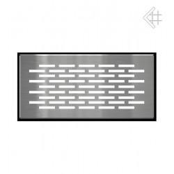 Kratka podłogowa FLOOR 9x20 cm - szlifowana