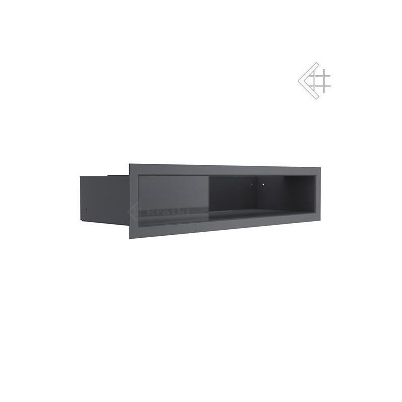 Kratka wentylacyjna LUFT SF 90x400 mm - kolor grafitowy