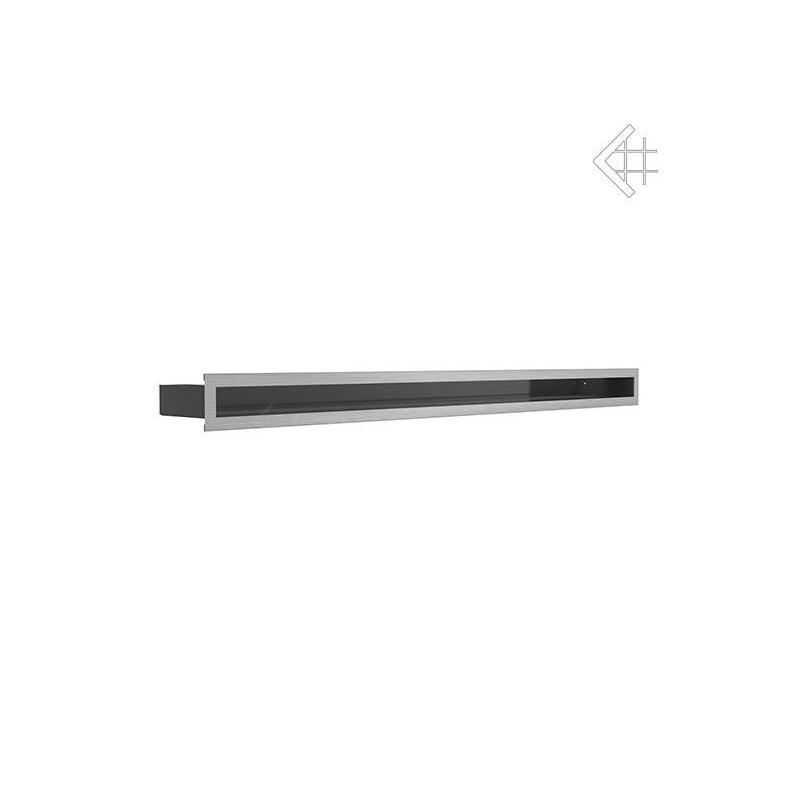 Kratka wentylacyjna LUFT SF 60x1000 mm - szlifowany