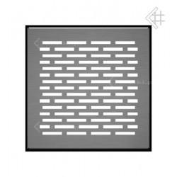 Kratka podłogowa FLOOR 17x17 cm - szlifowana #1