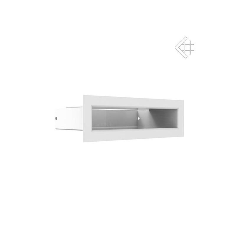 Kratka wentylacyjna LUFT SF 60x200 mm - kolor biały