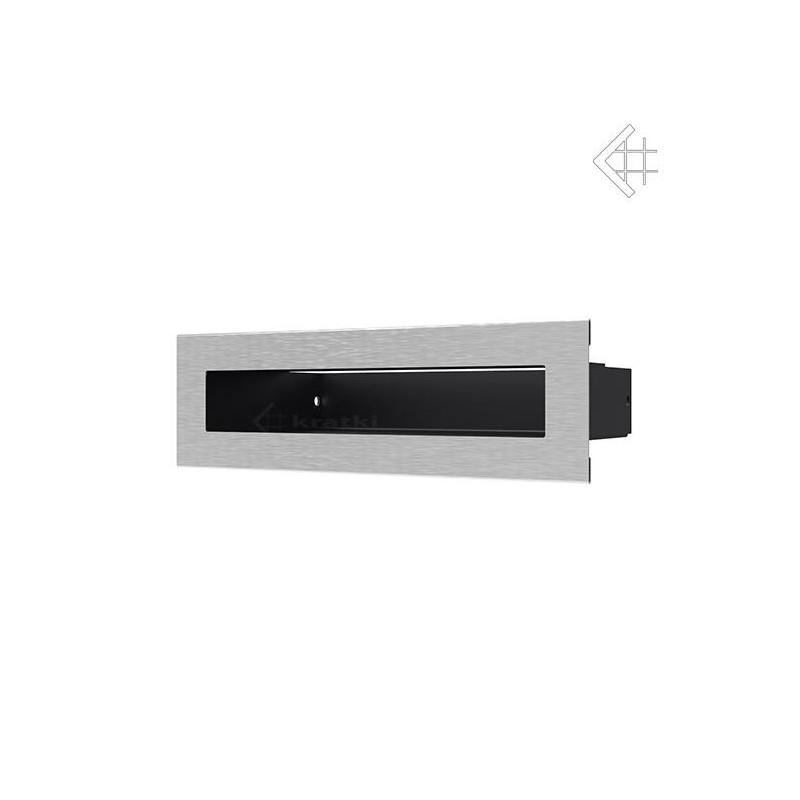 Kratka wentylacyjna LUFT SF 60x200 mm - szlifowany