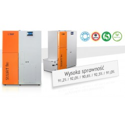 Automatyczne kotły CO na PELLET LAZAR SmartFire 11/240